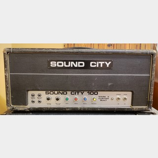 SOUND CITYL-100 MARK-3 CUSTOM BUILT HEAD -Dallas Abiter Ltd- [100w][1968年製][VINTAGE]【G-Club Tokyo】