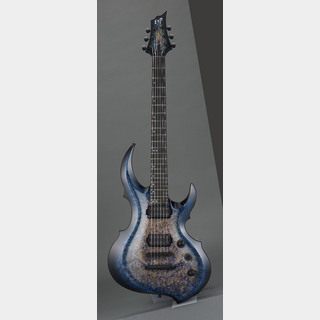 ESP FRX-CTM NT Burled Maple #Mercury Blue Burst