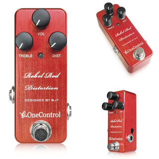 ONE CONTROL Rebel Red Distortion 【新製品】
