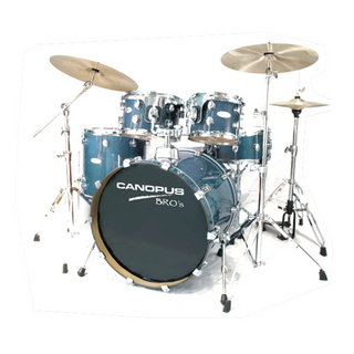 canopusCANOPUS BROS KIT 20BD.10TT.12TT.14FT.14SD カバリングフィニッシュ
