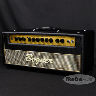Bogner Shiva Head EL34 【Black/Salt&Pepper/Gold piping】