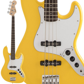 Squier by Fender FSR Affinity Series Jazz Bass Graffiti Yellow