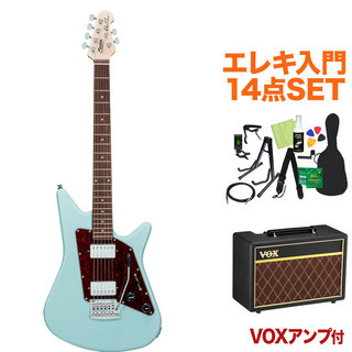 Sterling by MUSIC MAN ALBERT LEE SIGNATURE DBL エレキ初心者14点セット【VOXアンプ付き】