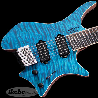 strandbergBoden J-Series J7 Custom 6A Quilted Maple NMF Limited Edition (Turquoise) [Made in Japan]
