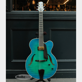Sadowsky Guitars Archtops Series Jim Hall Model (Bora Blue Burst)