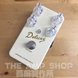 Lovepedal Deluxe Overdrive Brownface