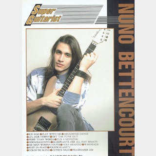 "シンコーミュージックband score "" NUNO BETTENCOURT """