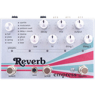 Empress EffectsReverb[High-Quality Stereo Reverb]