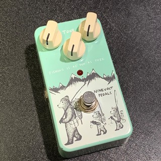 NINEVOLT PEDALSFISHING IS AS FUN AS FUZZ