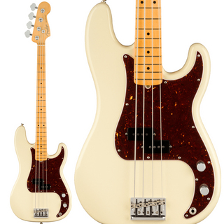 Fender American Professional II Precision Bass (Olympic White/Maple)【入荷待ち、ご予約受付中!】