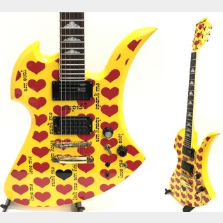 Burny Burny MG-145S HY hide HEART YELLOW