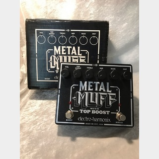 Electro-Harmonix METAL MUFF Distortion with Top Boost [正規輸入品] ☆全品送料無料!7/20 19:59時まで!☆