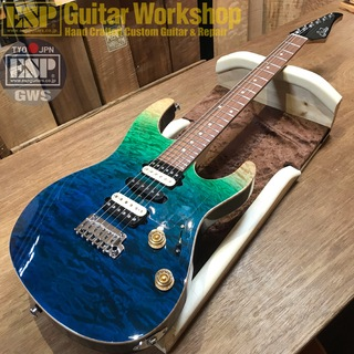 Suhr(正規輸入品) Modern Plus Curly -Limited Edition-【Aqua Blue Gladient/Pau Ferro】