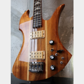 B.C.Rich Vintage Mockingbird Bass Koa '77 / Red PIN