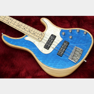 Alusonic Custom Shop J-Special Deluxe 4 Natural / Blue 3.69kg #1601206