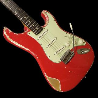 Xotic XSC-1 Fiesta Red Heavy Aged