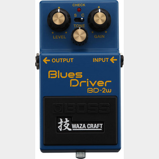 BOSS BD-2W(J) [MADE IN JAPAN] [Blues Driver 技 Waza Craft Series Special Edition] 【期間限定★送料無料】