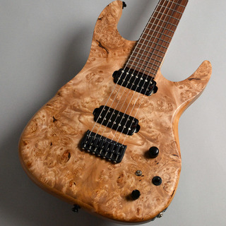 dragonfly SOTTILE Custom 7st 666/Burl Maple Top エレキギター(7弦) 【限定特価】