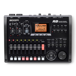 ZOOMR8 Recorder : Interface : Controller : Sampler