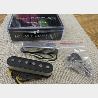 LOLLAR PICKUPS Alnico 3 Telecaster chrome set