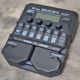 ZOOM G1 FOUR Guitar Multi-Effects Processor【福岡パルコ店】