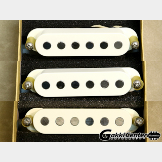 TV JONESStarwood Strat Pickup Bridge&Middle&Neck Parchment White Set