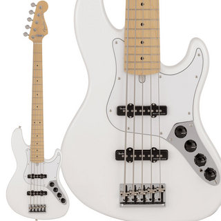 Fender Made In Japan Limited Deluxe Jazz Bass V (Arctic White)