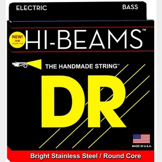 DR HI-BEAM DR-MR5-45 ROUND CORE STEINLESS STEEL WOUND 45-125 Long Scale MEDIUM 5弦ベース用 【渋谷店】