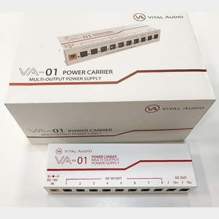 Vital Audio VA-01 POWER CARRIER MULTI-OUTPUT POWER SUPPLY 【当店ベストセラー】