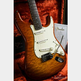 Fender Custom Shop Custom Deluxe Stratocaster 2012 Faded Honey Burst