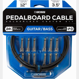 BOSS Pedalboard cable kit BCK-12【新製品】