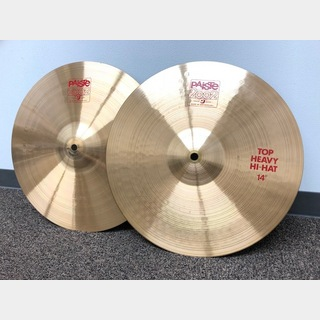 PAiSTe 2002 Heavy Hi-Hat 14″ Top & Bottom SET 中古品