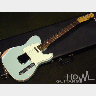 HOWL GUITARS Newscaster Sonic Blue / Rose #015