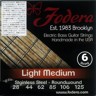 Fodera 6-String Sets Stainless Steel (28-125)