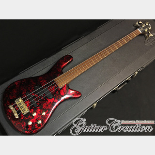 "Warwick Streamer LX '01年製【Volcano Red Refinish】 ""Hard Bottom Sound!"""