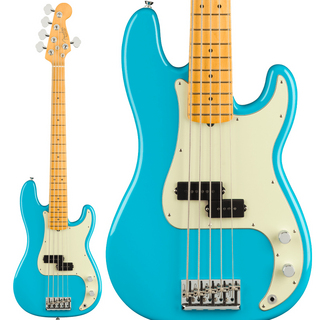 Fender American Professional II Precision Bass V (Miami Blue/Maple)【2021年2月以降入荷予定】