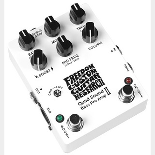 FREEDOM CUSTOM GUITAR RESEARCH Quad Sound Bass Preamp Ⅱ