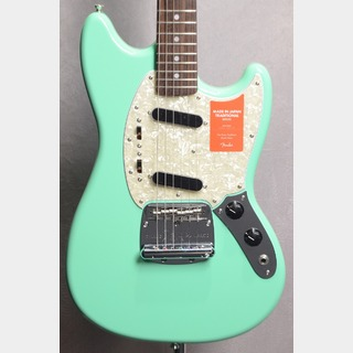 Fender Made in Japan Traditional 60s Mustang Rosewood Fingerboard Surf Green 【横浜店】