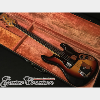 Guyatone EB-25 '73年製【3Tone Sunburst】w/Hard Case ~Real Vintage Sound~ 4.4kg