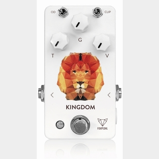 Foxpedal Kingdom White Polygon Lion オーバードライブ 【Webショップ限定】