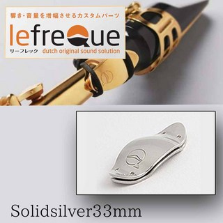 LefreQue SolidSilver 33mm