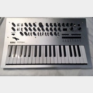 KORGminilogue 【展示入替えチョイ傷特価!クリスマスセール!ローン分割手数料0%(12回まで)】