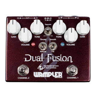 Wampler Pedals Dual Fusion 【特価】
