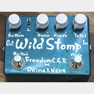 FREEDOM CUSTOM GUITAR RESEARCH × Akima & Neos Wild Stomp S-LTD(Candy Emerald)