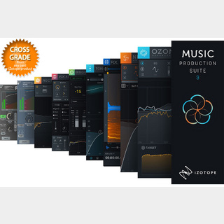 iZotopeMusic Production Suite 3: crossgrade from any paid iZotope product【WEBSHOP】