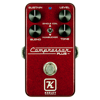 Keeley Compressor Plus LTD Royal Red 【Keeley ベースボールキャッププレゼント!】