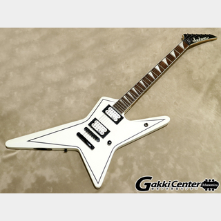 Jackson JS32 Gus G. STAR Stain White with Black Pinstripes