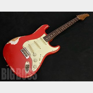 Xotic California Classic XSC-1 (Fiesta Red Heavy Aged)