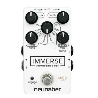 Neunaber Audio Effects Immerse Reverberator MkII WhiteOut コンパクトエフェクター リバーブ