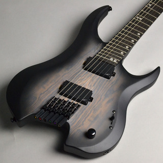 LegatorGF6P Ghost Series Fanned Fret Black Burst Bocote (BBB)